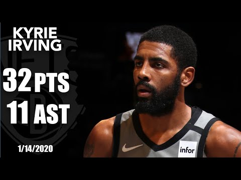 Kyrie Irving Picks Up Double-double With 32 Points And 11 Assists Vs. Jazz | 2019-20 NBA Highlights