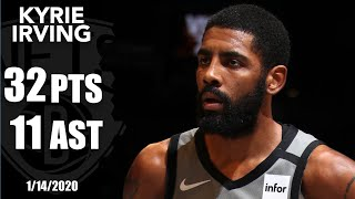 Kyrie Irving picks up double-double with 32 points and 11 assists vs. Jazz   2019-20 NBA Highlights