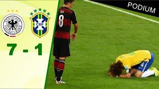 Allemagne - Brésil (7-1)   Match replay avec le son RMC🎙