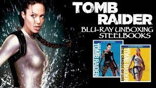 TOMB RAIDER BLU-RAY STEELBOOK UNBOXING!