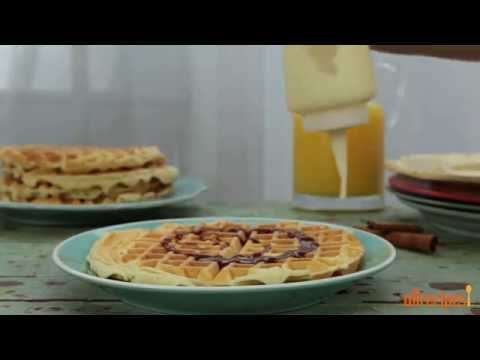 How to Make Cinnamon Roll Waffles | Waffle Recipes | Allrecipes.com