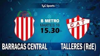 Barracas Central vs CA Talleres Remedios de Escalada full match