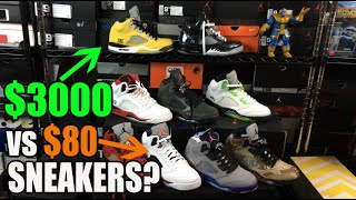 $3000 vs $80 Sneakers? What is the difference, Same Shoe?