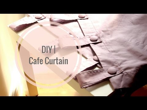 DIY | Cafe Curtain | Girl With The Afro
