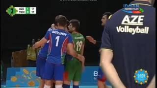 Islam Oyunlari Voleybol (1-ci set) AZE VS TKM 17.05.2017
