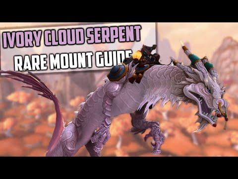 Ivory Cloud Serpent Rare Mount Guide - Patch 8.3 WoW - Zan-Tien Lasso!
