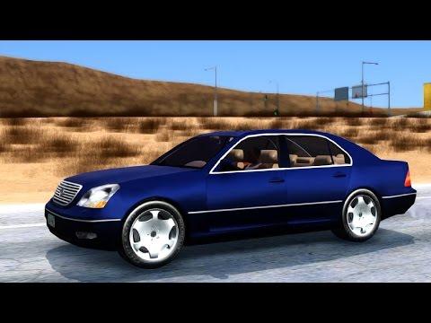 Lexus LS430 - GTA San Andreas | EnRoMovies