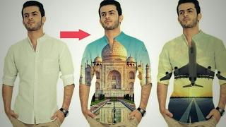 How to Put images on T - Shirts in Picsart Picsart Editing Tricks PicsArt Editing Tutorial