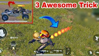 PUBG Mobile 3 Awesome Tricks | Nobody Knows This Awesome Secret Trick PUBG Mobile