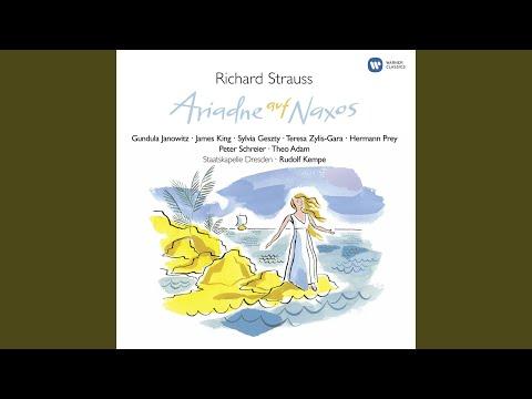 """Ariane à Naxos, Op. 60, TrV 228a, Opera: """"Bin Ich Ein Gott, Schuf Mich Ein Gott"""" (Bacchus,..."""