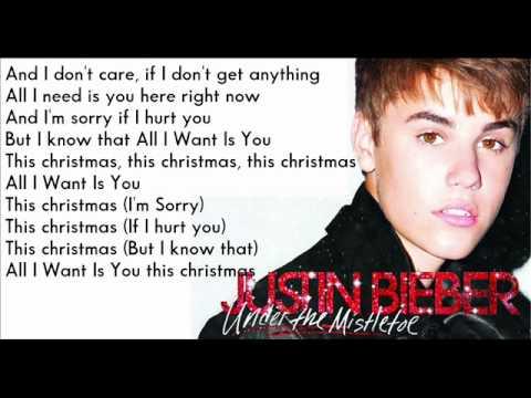 Justin Bieber - All I Want Is You [ Karaoke - Instrumental ] - YouTube