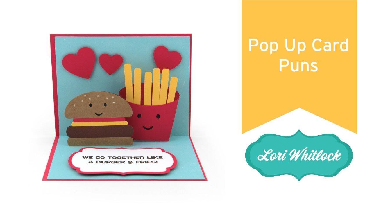 Birthday Card Food Puns ~ Pop up card puns youtube