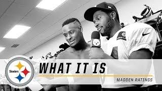 Steelers Antonio Brown on Madden 16 Ratings | What It Is