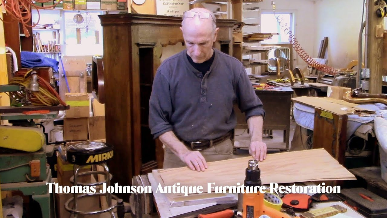 Restoring a Welsh Cupboard - Thomas Johnson Antique Furniture Restoration