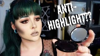 BLACK ANTI-HIGHLIGHT?? Unboxing / Try On