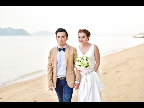งานแต่งในฝันริมทะเล.ภูเก็ต,,K.Sa & K.Tu wedding ceremony 20.02.2016