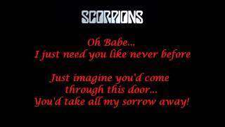Scorpions - No One Like You - Live - Lyrics