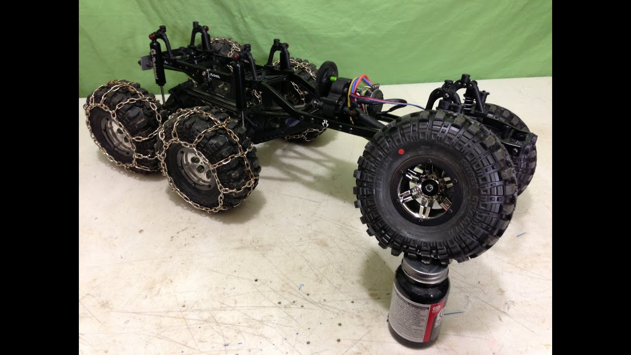 Axial SCX10 6x6 Custom Build - YouTube