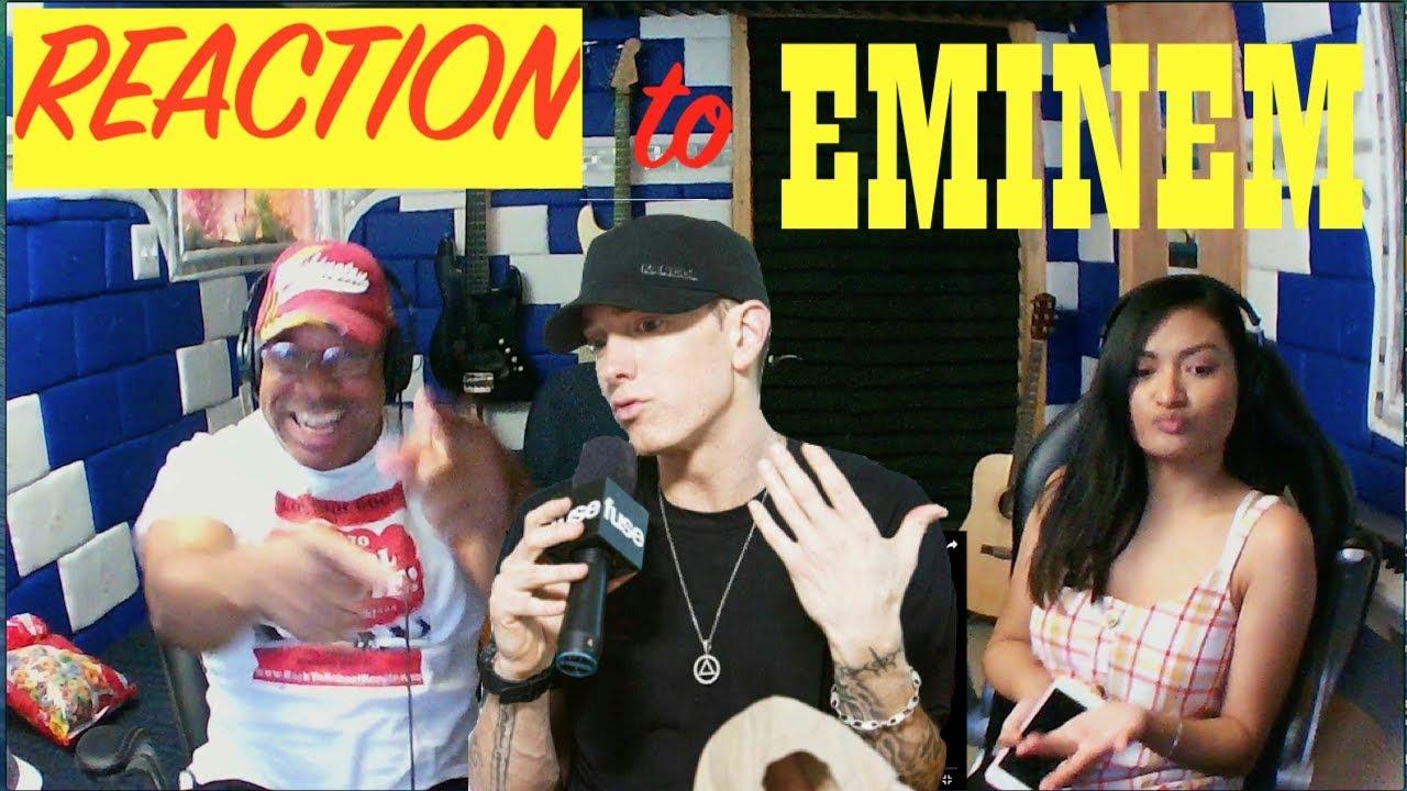 Eminem - Bad Guy (Lyrics) Producer Reaction