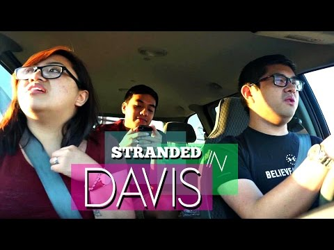 Stranded in Davis?!   Outlet Shopping, Sushi Boats, and Carpool Karaoke