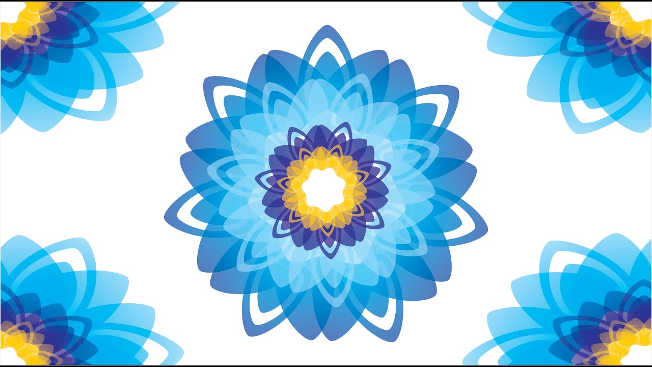 Flower Design In Corel Draw Youtube