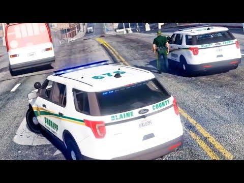 Stolen Bus Pursuit   OCRP GTA 5 Roleplay Live!