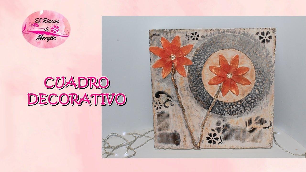 Como hacer cuadros decorativos faciles de carton con caja - Hacer cuadros decorativos ...