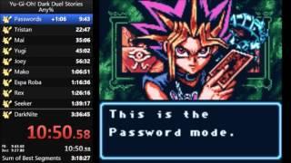 Yu-Gi-Oh! Dark Duel Stories speedrun in 3:21:08