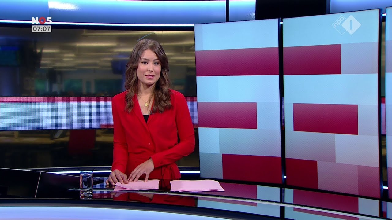 Amber Brantsen Nos Journaal Presentatrice 11 Augustus 2017 7 00