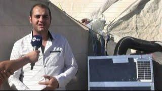 أخبار عربية - شابان سوريان يخترعان جهازا يقي اللاجئين السوريين من برد الشتاء