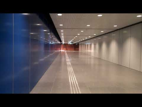 Underpass at Singapore Expo MRT Station