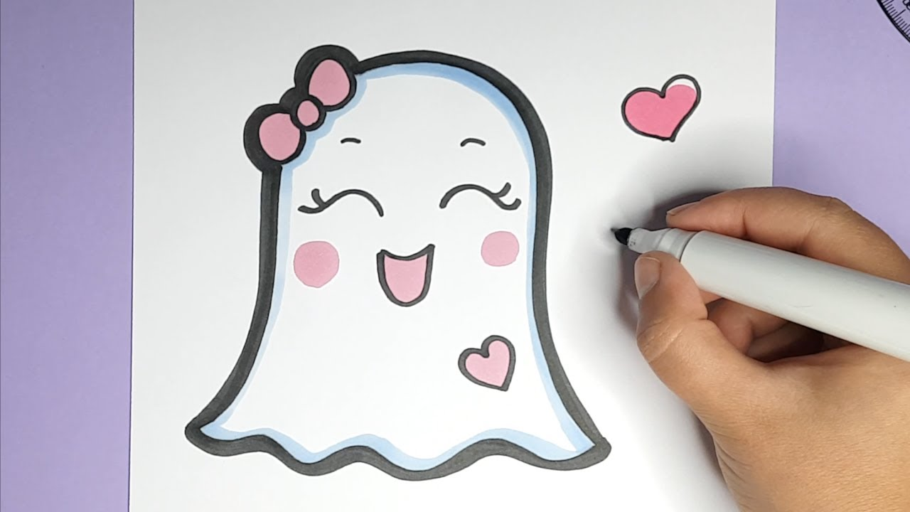 bilder malen leicht süß  kawaii kalender malen  einfach