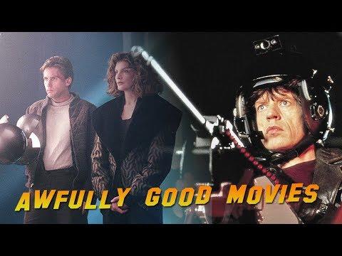 FREEJACK 1992  Awfully Good Movies, Emilio Estevez, Mick Jagger, Rene Russo scifi movie