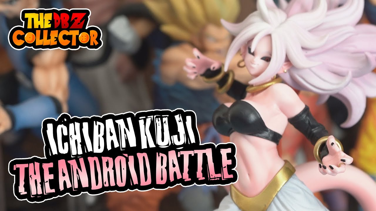 Banpresto Dragonball Super Ichibankuji Android Battle Android 21 Figure SP Prize