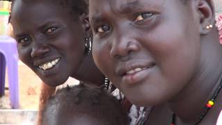 På mission i flygtningelejr i Sydsudan i 2015