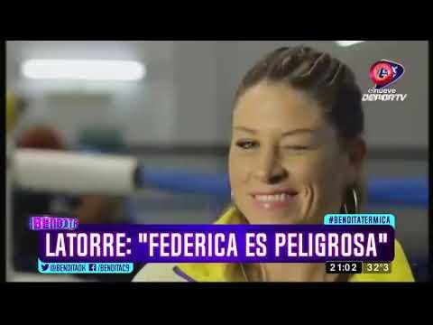 """Latorre: """"Federica es peligrosa"""""""