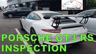 2016 Porsche GT3 RS Inspection by the Car Inspected Team (1/2)