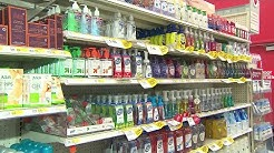 Stores like CVS and Walgreens warn there could be a shortage of hand sanitizer