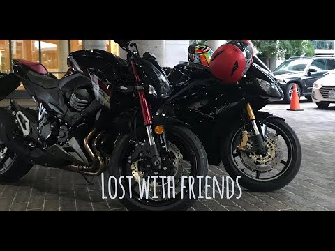 Lost With Friends | Kawasaki Z | Triumph Daytona  |