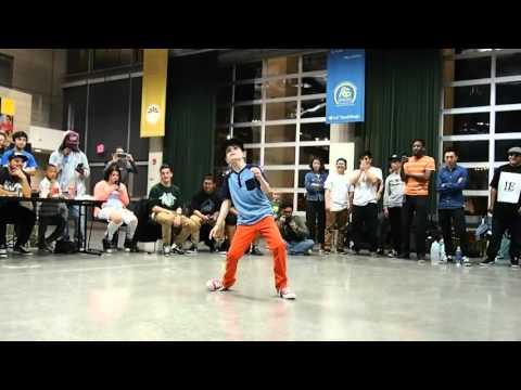 Soundsplit Tie Breaker UCSD Popping Battle - Poptikz