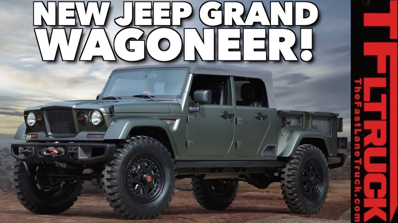 medium resolution of leaked new 2019 jeep grand wagoneer and ask tfltruck