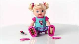 BABY ALIVE   BABY WANNA WALK Doll Video
