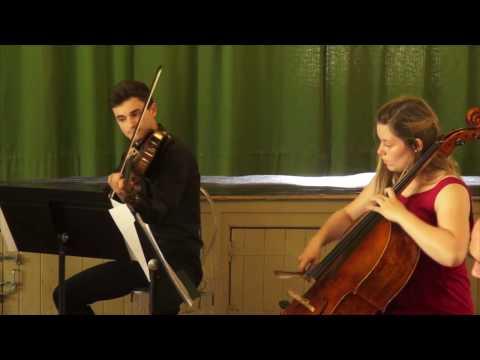 Animato String Quartet (Australia) performs Eliza Aria by Kats-Chernin