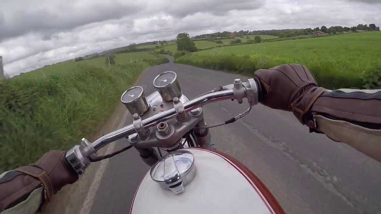 1971 suzuki t500 r cafe racer. - youtube