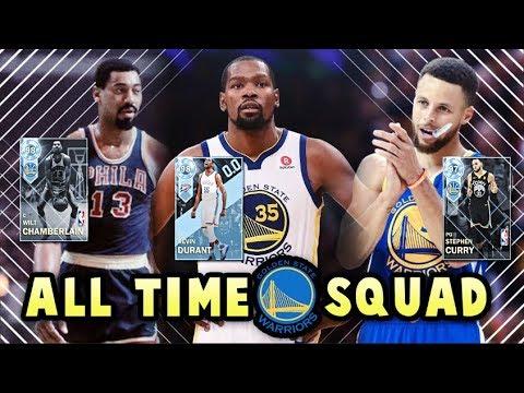 6983e07691e NBA 2K18 ALL TIME WARRIORS SQUAD!! DIAMOND CURRY