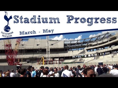 OUR NEW HOME #2 | Spurs New Stadium Progress (March - May)