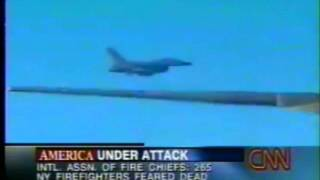 Fighter Jets Next to Air Force One 9-11-01