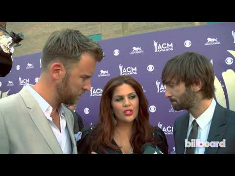 Lady Antebellum: 2013 ACM Awards Red Carpet