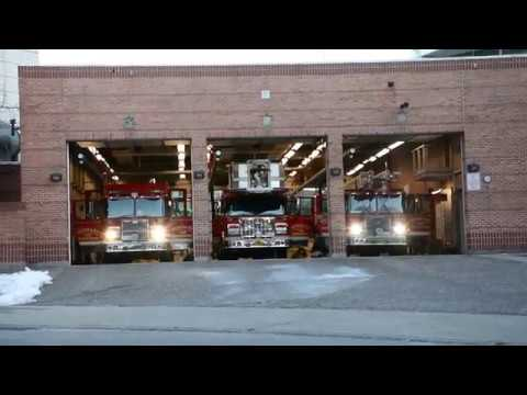 *Full Station Response* Burnaby Fire Department, Engine 31, Engine 32, And Ladder 3 Responding