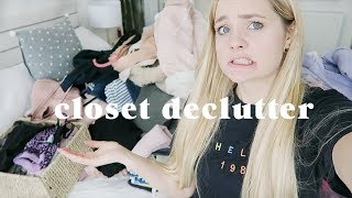 Massive closet declutter 🙅�♀�How to sort your life out: Part 1